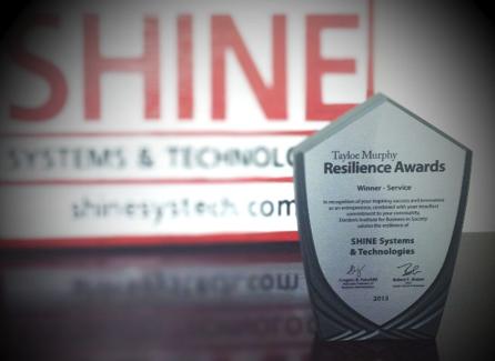 image of SHINE Systems' Tayloe Murphy Award