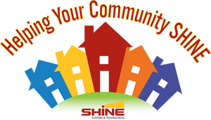 Helping Your Community SHINE logo